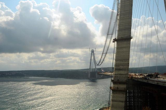 İşte 3. boğaz köprüsünün son hali