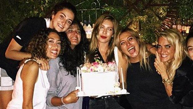 Sinem Kobal'ın doğum günü kutlamaları devam ediyor