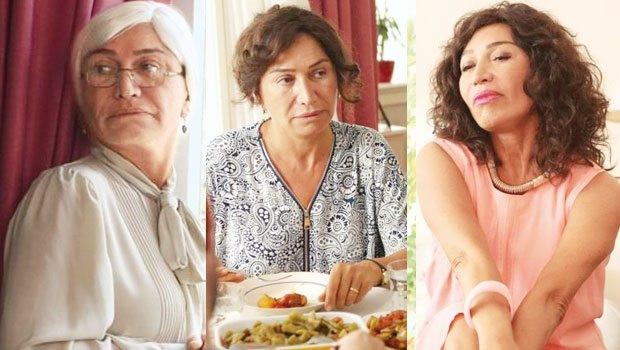 Demet Akbağ Nadide Hayat'ta üç farklı rolle izleyici karşısına çıka