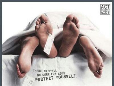 En ilginç AIDS reklamları