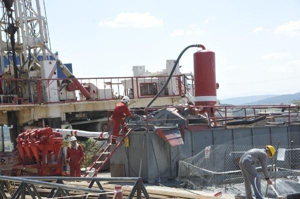 İstanbul'un yakınında doğal gaz heyecanı