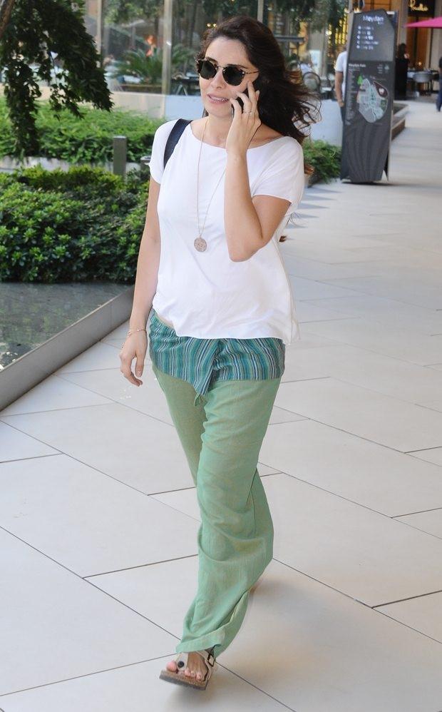 Nur Fettahoğlu 4 aylık hamile