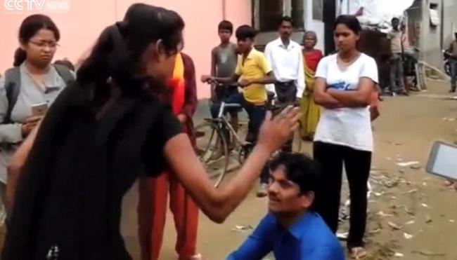 Tacizciden görülmemiş kadın intikamı