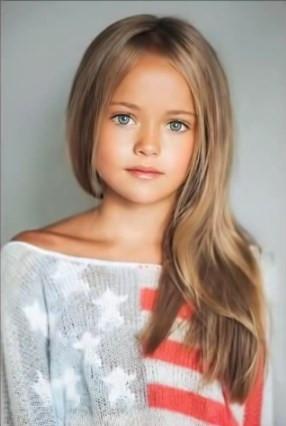 Dünyanın en güzel kızı 10 yaşında