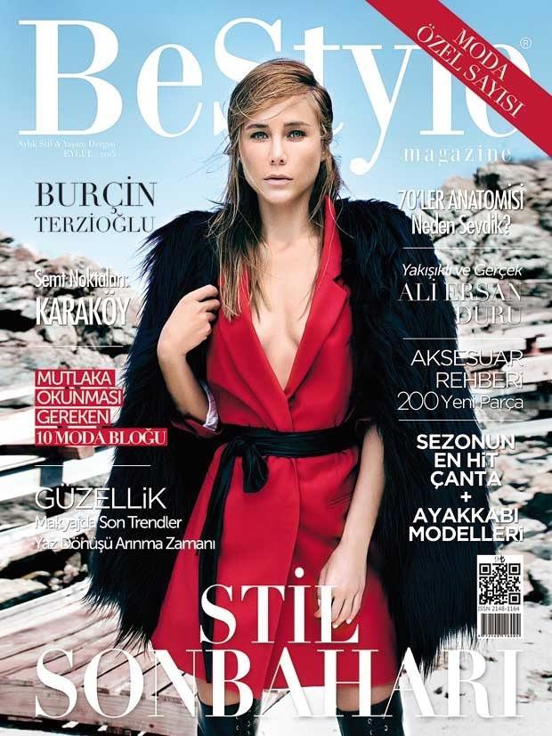 Burçin Terzioğlu BeStyle dergisine poz verdi