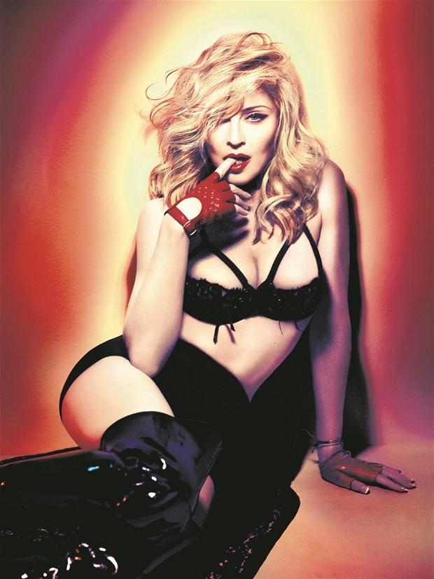 Madonna'nın kızı annesini aratmıyor