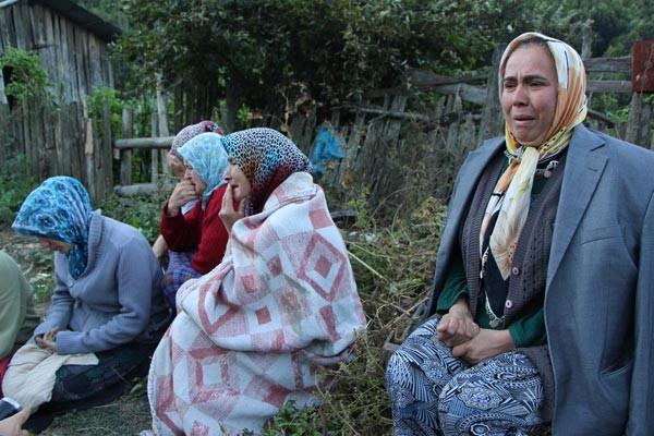 Köy alevlere teslim oldu, 7 ev ile 5 ahır yandı