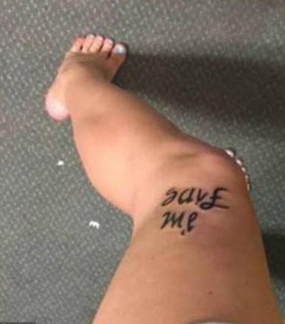 Yaptırdığı dövme ile fenomen oldu