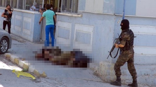 Teröristlerin cenazesini HDP'li milletvekili aldı