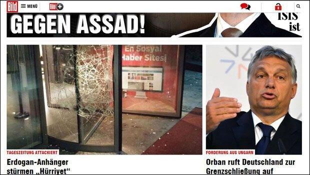 Hürriyet'e saldırıyı dış basın böyle gördü