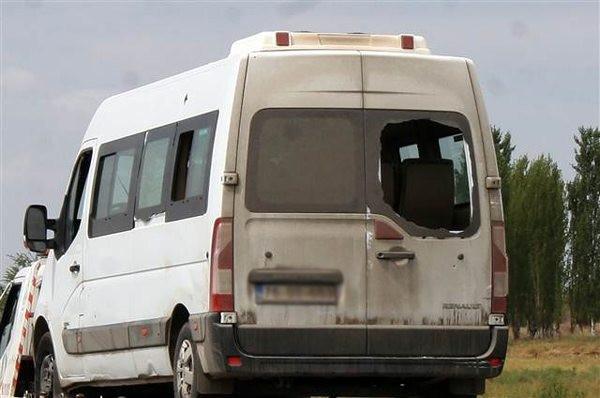 Polis minibüsüne hain tuzak!13 şehit