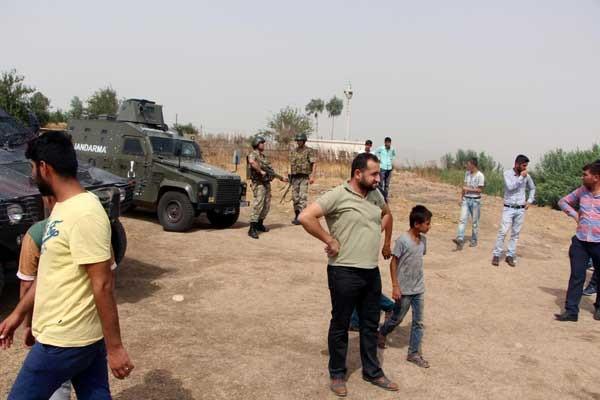 Jandarma şoförlere ateş açtı