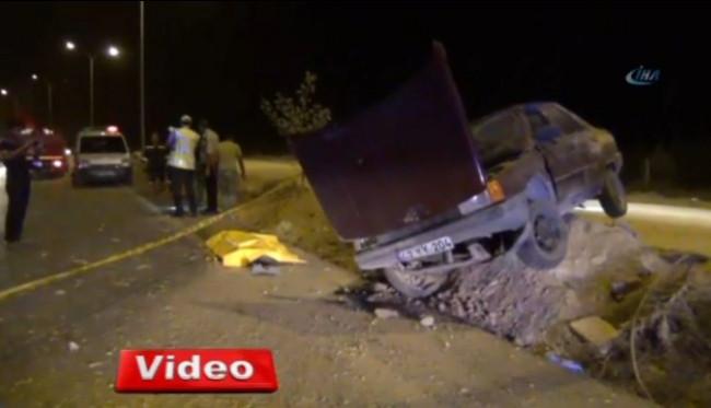 Konya Ereğli ilçesinde trafik kazası