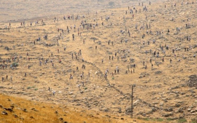 HDP'liler Cizre'ye akın etti