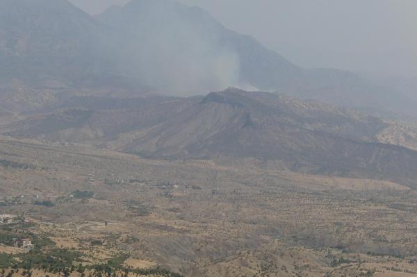 PKK, Şemdinli'de tabura havanlı saldırı düzenledi