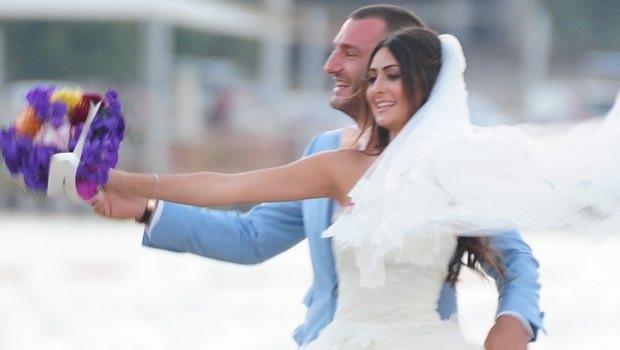 Eren Baki Çisem Buyan Türkbükü'nde evlendi