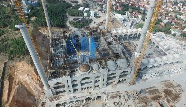 Cumhuriyet tarihinin en büyük cami kompleksi