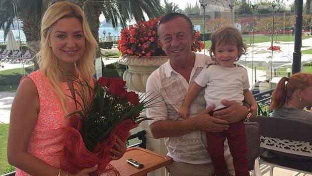 Ali Ağaoğlu Petek Ertüre'nin doğum gününü kutladı