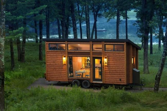 25 metrekarelik taşınabilir ev