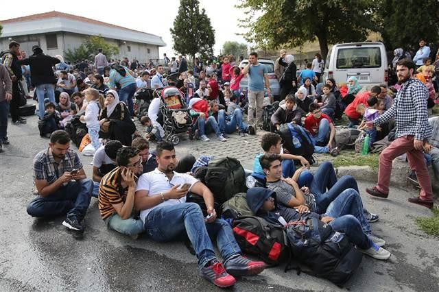 İstanbul Otogarı'na mülteci akını