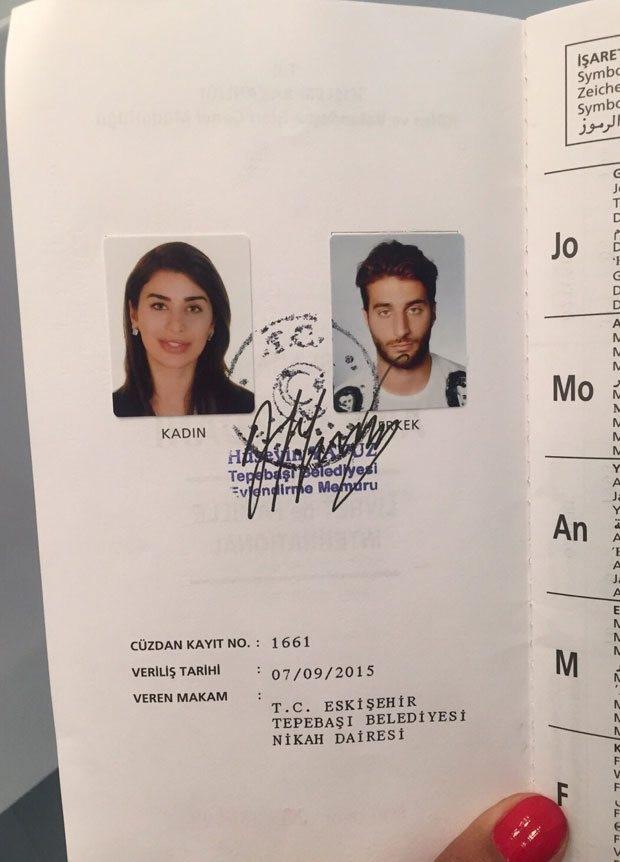 Ebru Şancı Alpaslan Öztürk'le Eskişehir'de evlendi