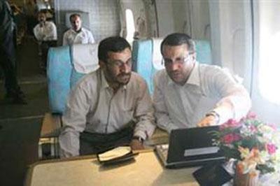 Ahmedinejadın AirForce Oneı