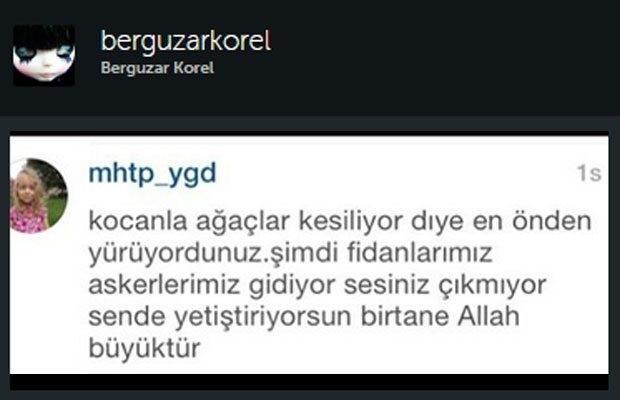 Bergüzar Korel, sosyal medya hesabını kapattı