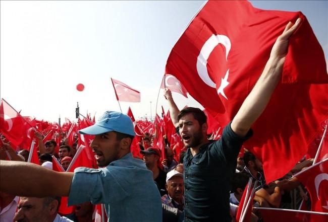 Türkiye tek bir nefes oldu