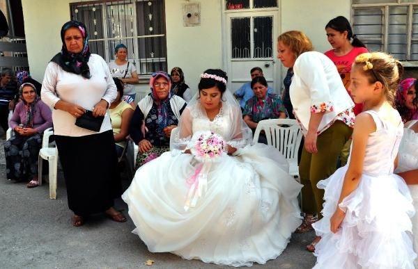 Damatsız düğün gerçek oldu