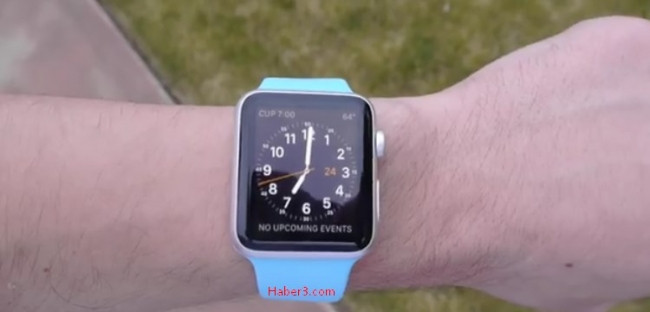Apple'ın saati düşme testinde