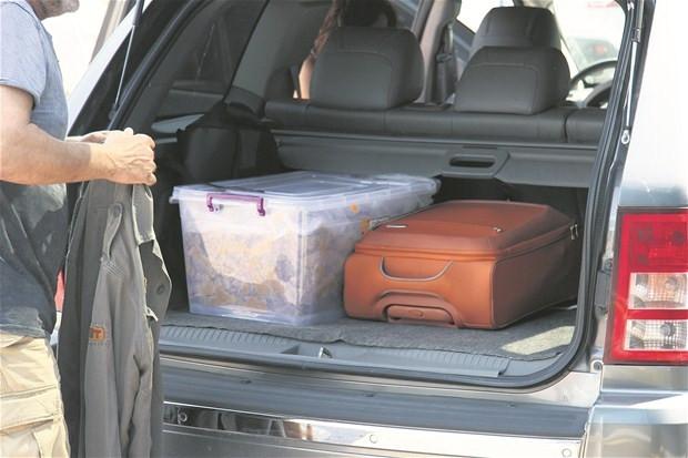 Sanat bagajda !