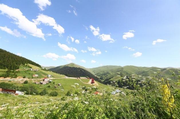 1800 metrede doğayla iç içe bir yaşam alanı