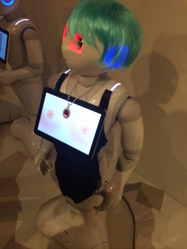 Robotla seks anlaşması