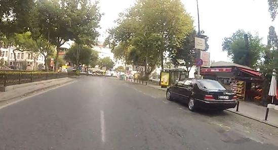 İstanbul sokakları bomboş
