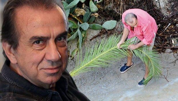 Erhan Yazıcıoğlu'nun kaplumbağaları sele kapıldı