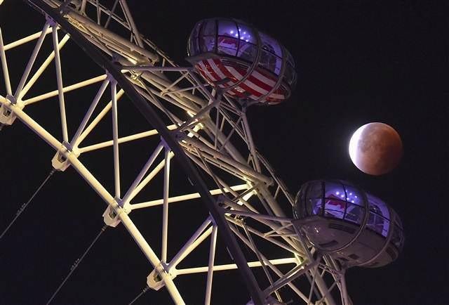 'Süper Ay Tutulması' böyle izlendi