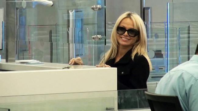 Pamela Anderson Türkiye'ye geldi