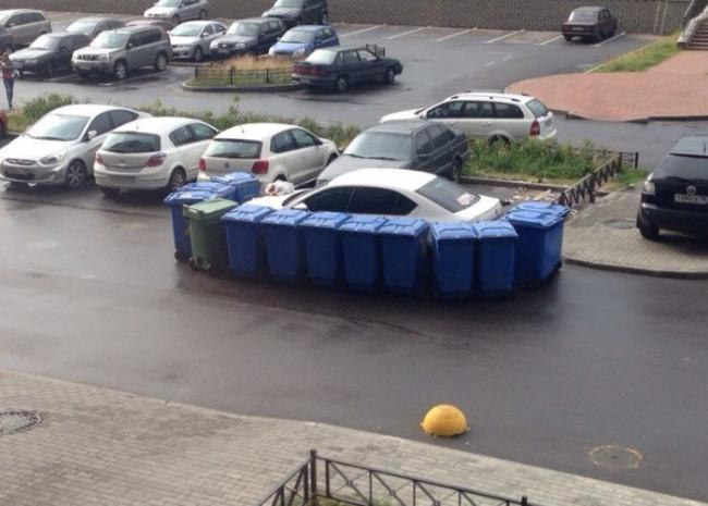 Hatalı parkın cezası...