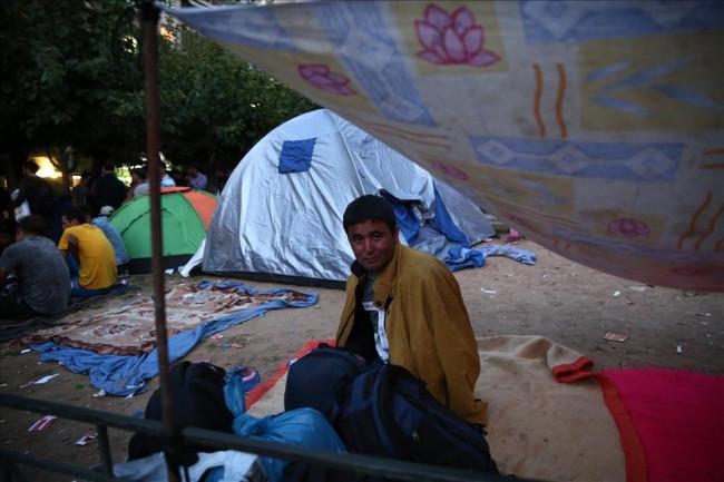Sığınmacılar Atina'da