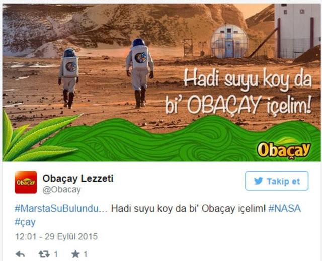 Mars'ta su bulununca...