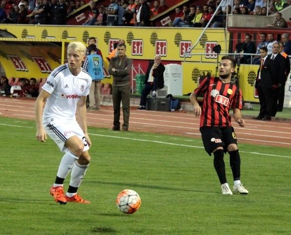 Eskişehir-Beşiktaş maçından kareler