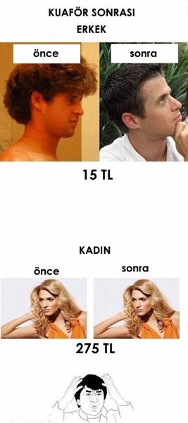 Kadın-erkek arasındaki farklar