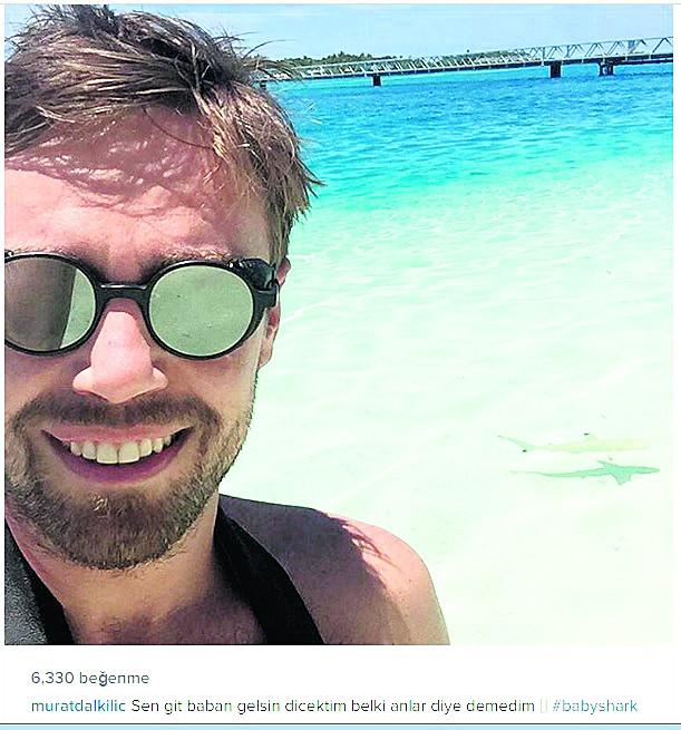 Minik kuş dalda! Maldivlerde ikinci balayı