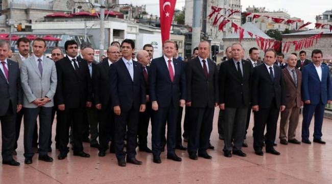 İstanbul'un kurtuluşu kutlaması!