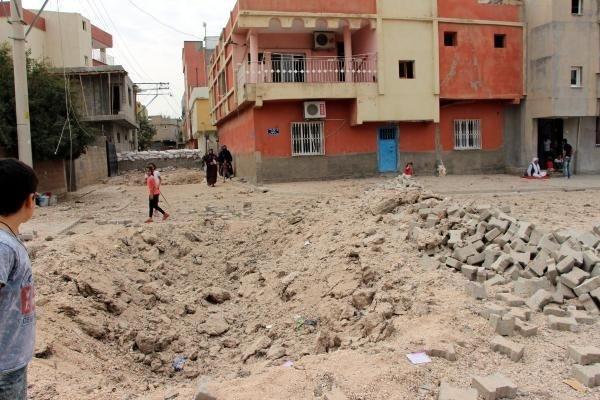 Nusaybin'de çatışmanın izleri ortaya çıktı