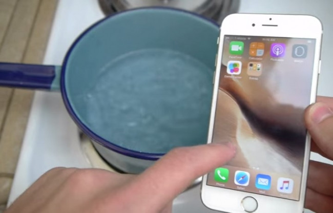 İphone 6S sıcak suya ne kadar dayanıklı?
