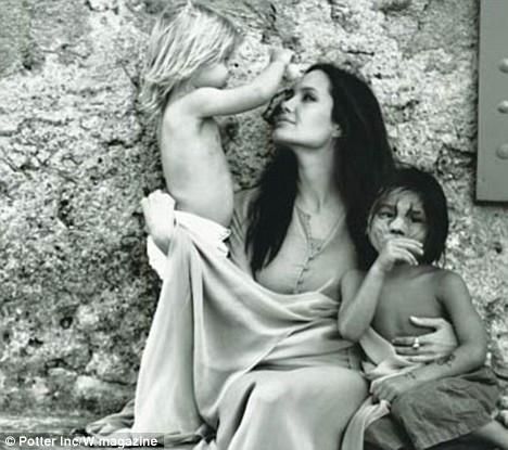 Brad Pittin gözünden Angelina Jolie