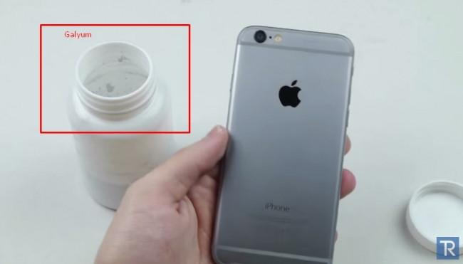 iPhone 6'ya Galyum dökülürse ne olur?