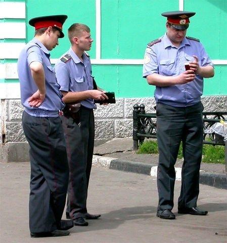 Bunlar da Rusya'nın polisleri