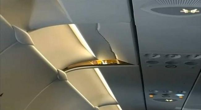 Türbülanstan sonra uçaklar